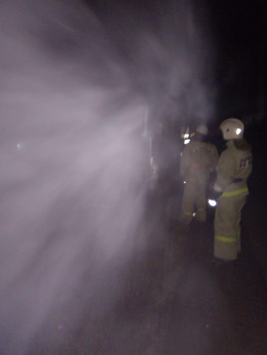Пожар в  Дзержинском районе, п. Товарково
