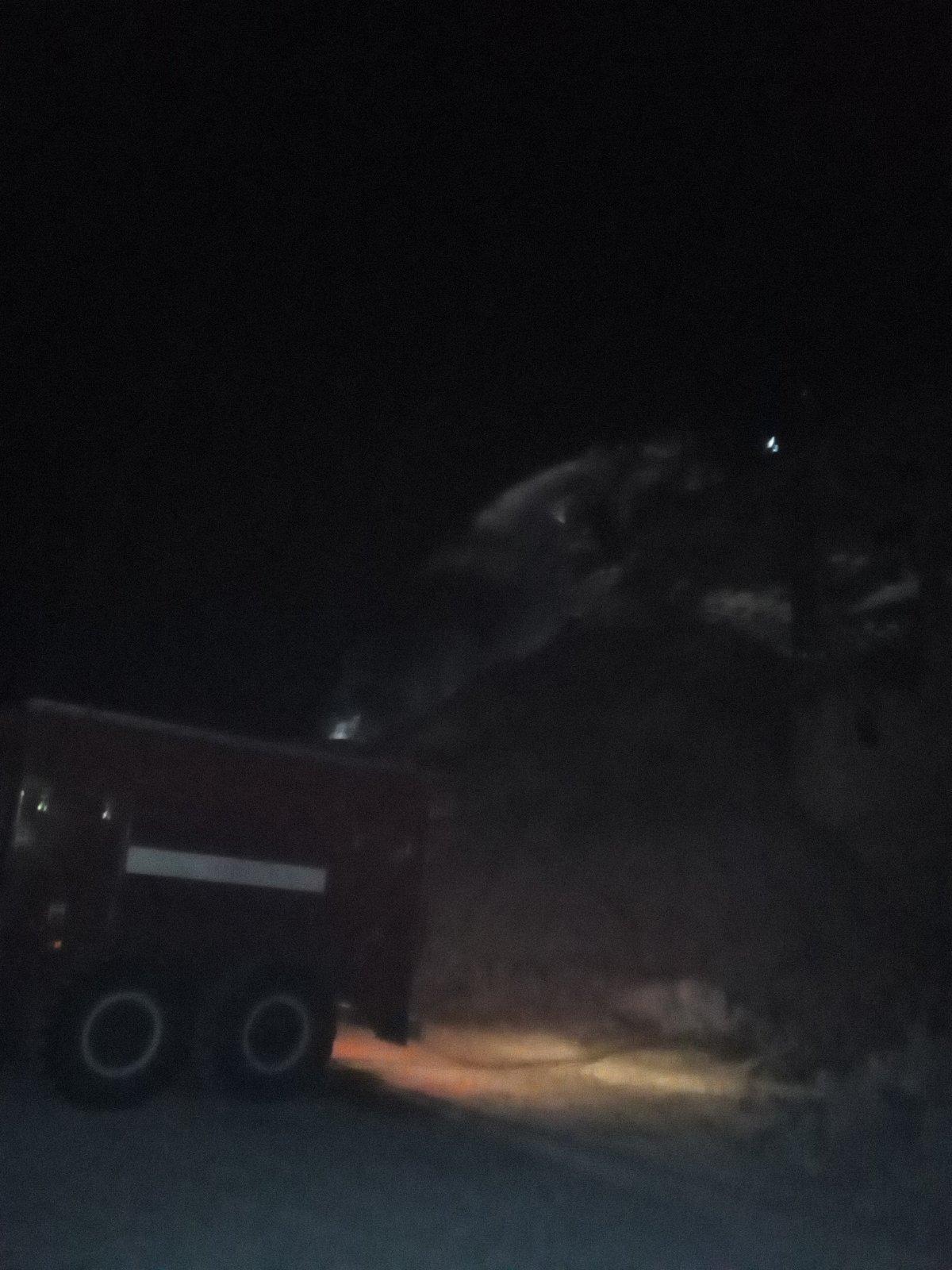 Пожар в Дзержинском районе, пос. Товарково, Товарковский карьер ООО «ДСЗ»