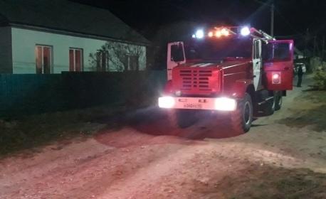 Пожар в Дзержинском районе, г. Кондрово, ул. Свердлова