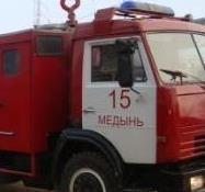 Спасатели МЧС принимали участие в ликвидации ДТП в Медынском районе, д. Павлищево