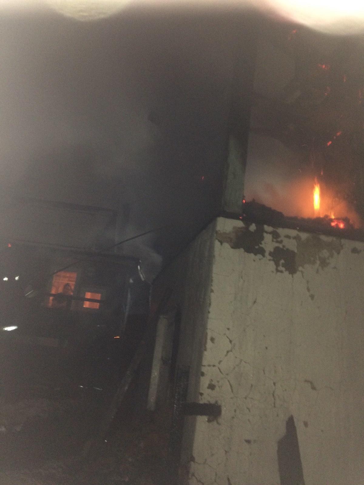 Пожар в г. Малоярославец, ул. Пролетарская