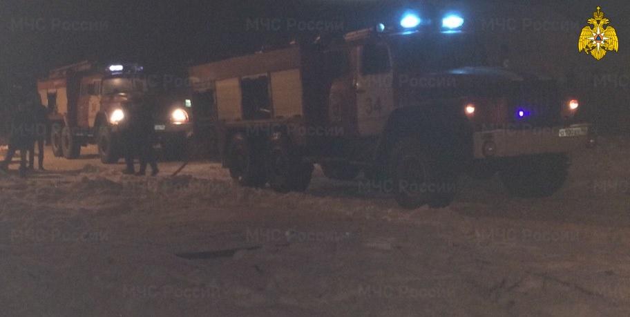 Пожар в Малоярославецком районе, д. Ротманово, ул. 1-ая Садовая