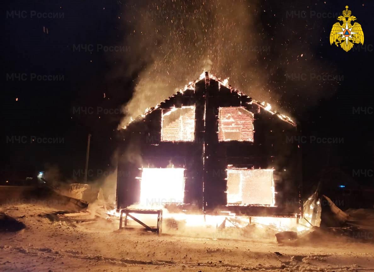 Пожар в Малоярославецком районе, КП «Воробьи»