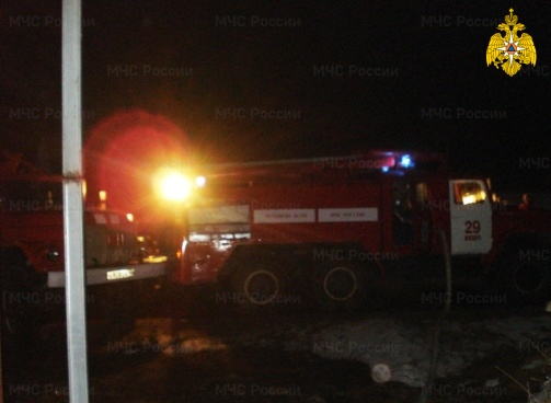 Пожар в Жиздринском районе, г. Жиздра, ул. Кирова