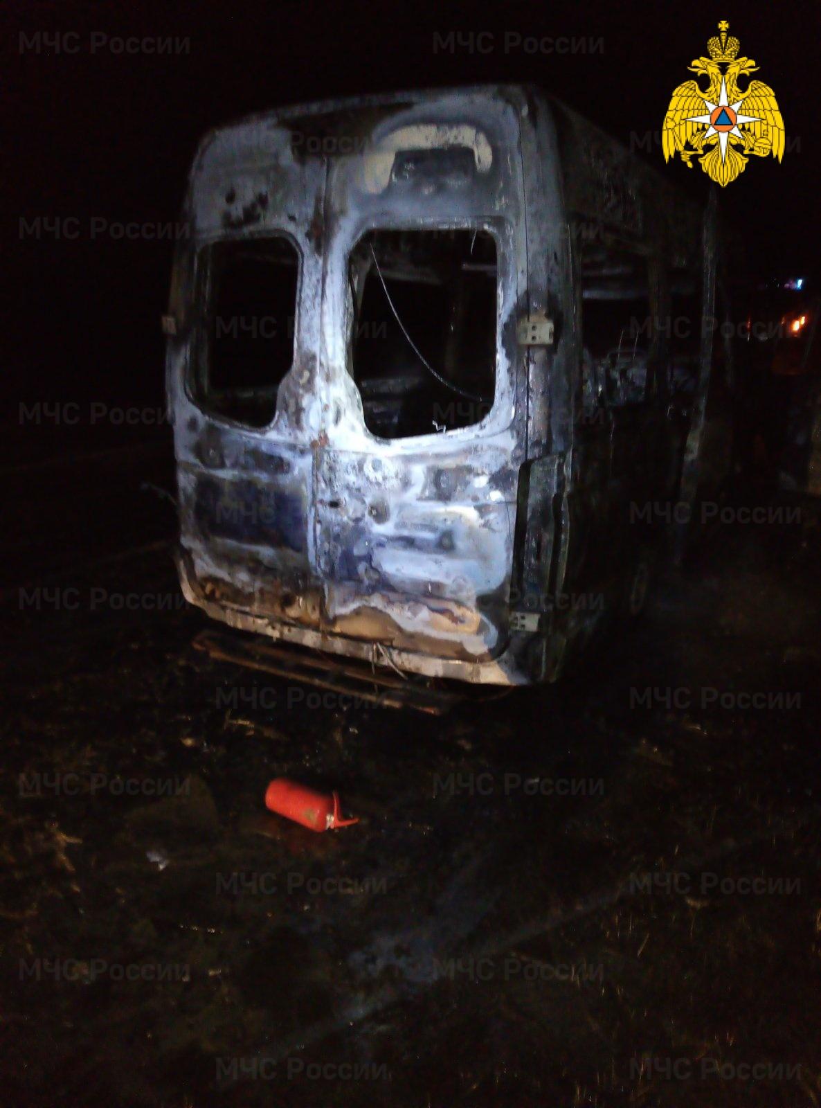 Пожар в Жиздринском районе, 305 км автодорога М-3 «Украина»