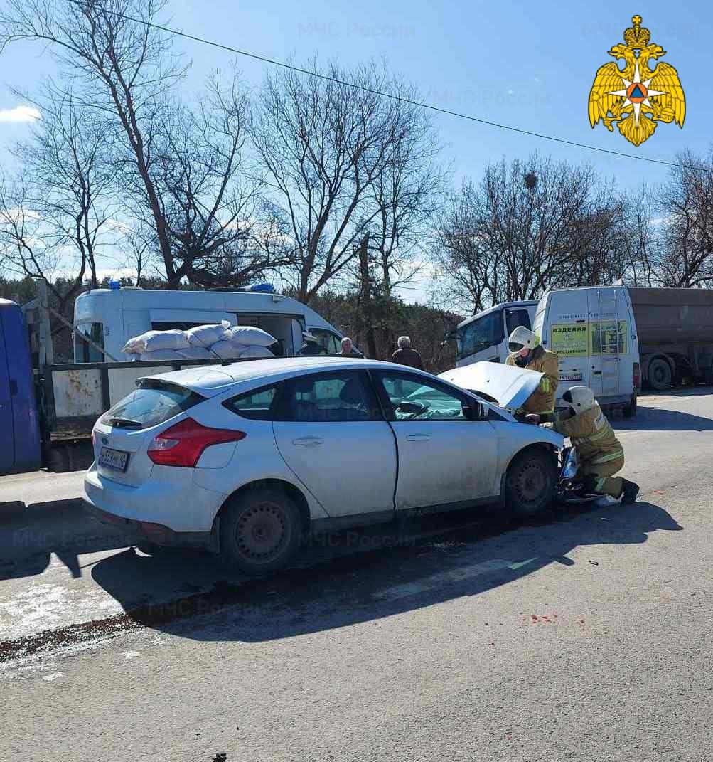 ДТП в Жуковском районе 110 км автодорога «А-130»
