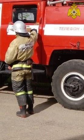 Пожар в Жуковском районе, с. Истья, ул. Дачная