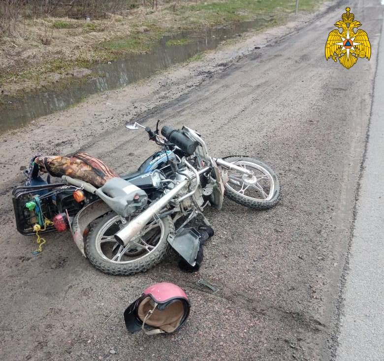 Спасатели МЧС принимали участие в ликвидации ДТП в Сухиничском районе, 257 км автодорога М-3 «Украина»