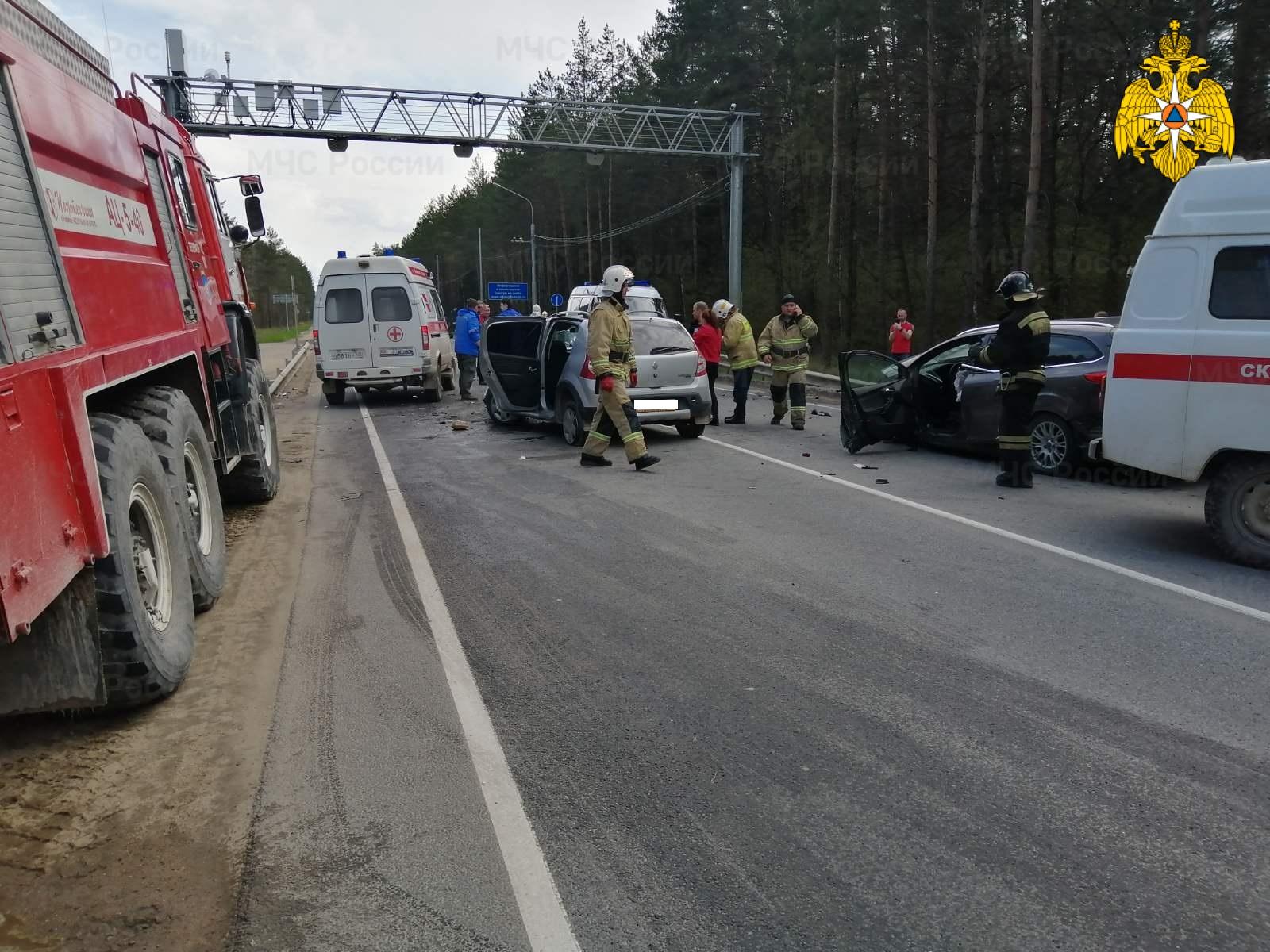 ДТП в Дзержинском районе, 21 км автодороги «Калуга-Медынь»
