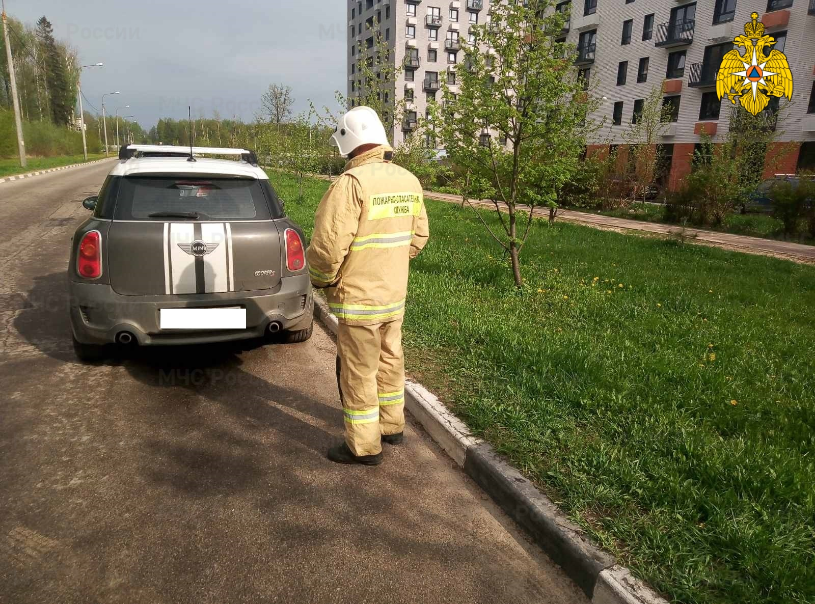 ДТП в г. Обнинск, ул. Курчатова