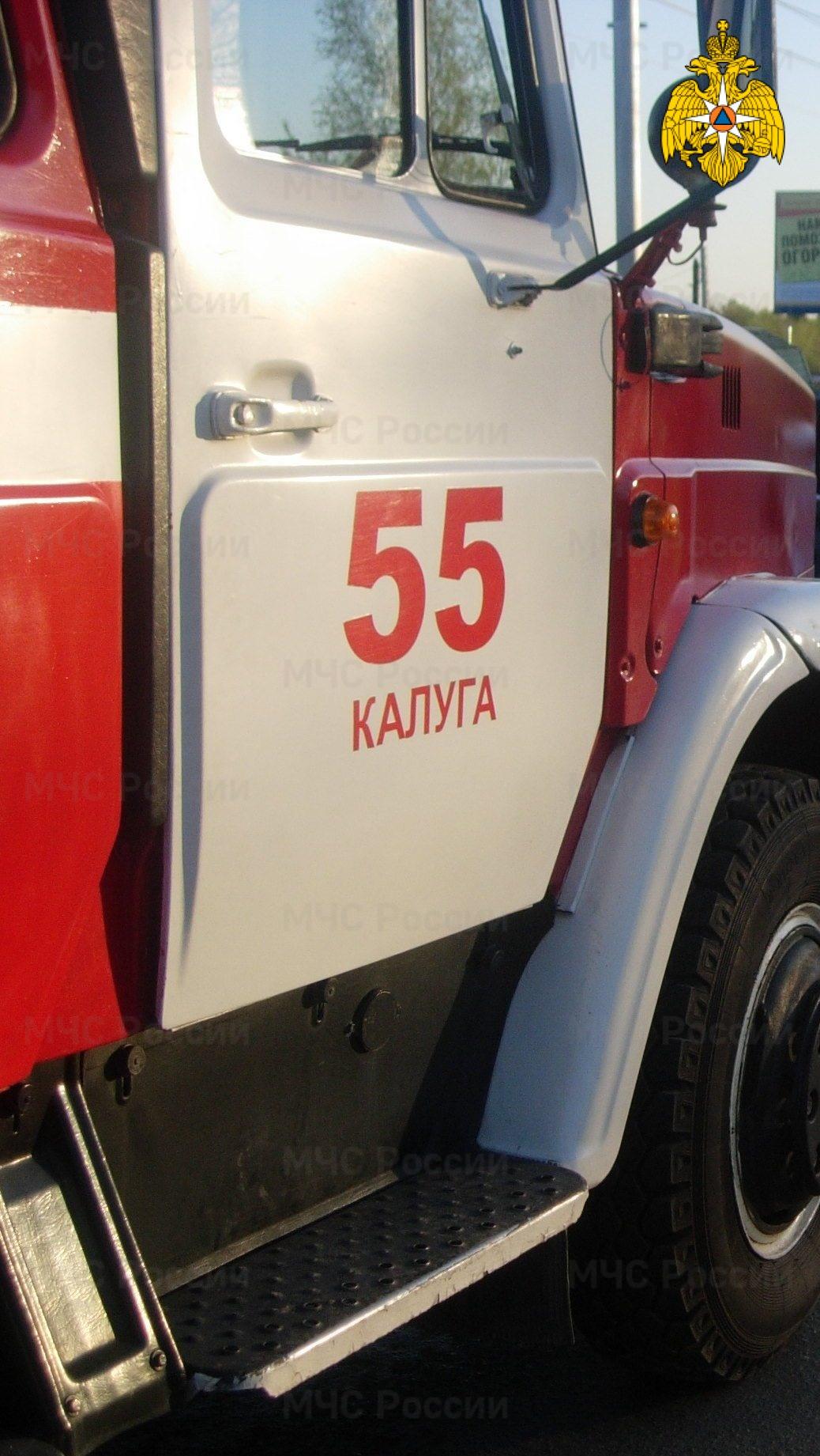 Спасатели МЧС принимали участие в ликвидации ДТП в г. Калуга, ул. Тарутинская