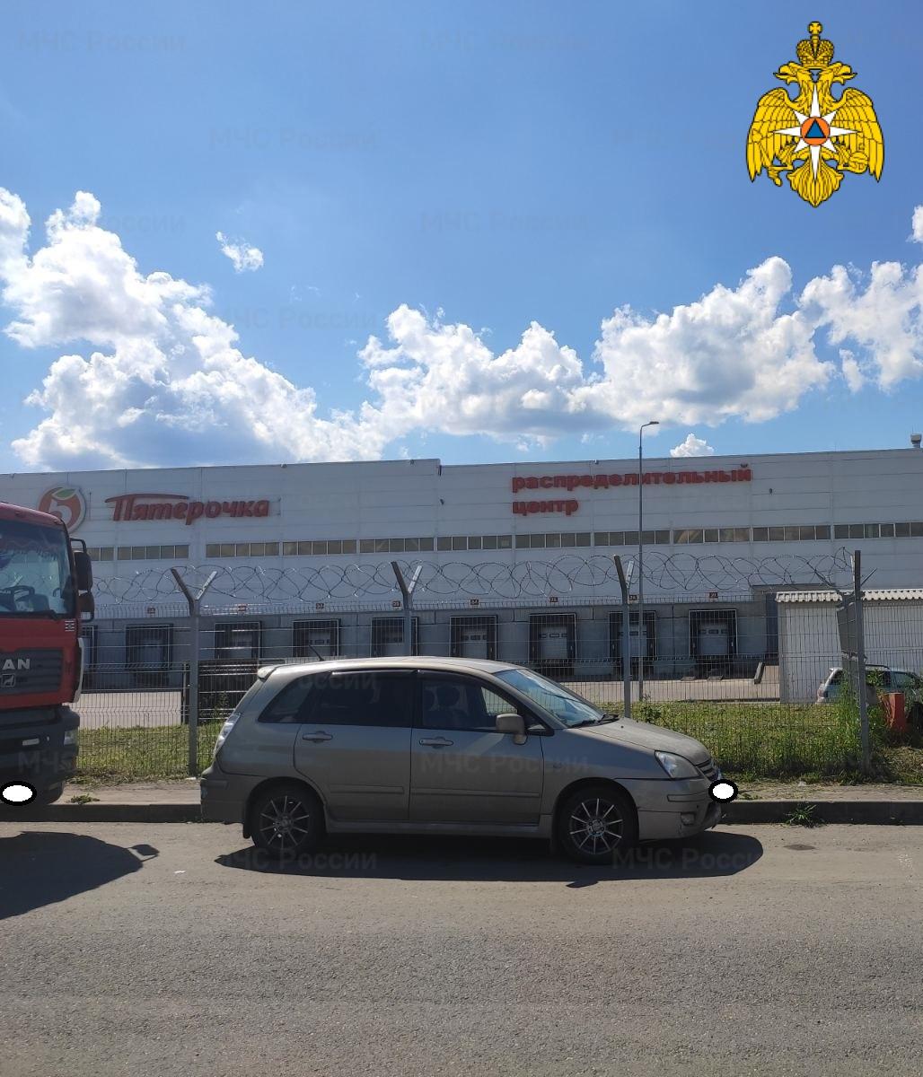 Спасатели МЧС принимали участие в ликвидации ДТП в Мещовском районе, 211 км автодорога «М-3 Украина»