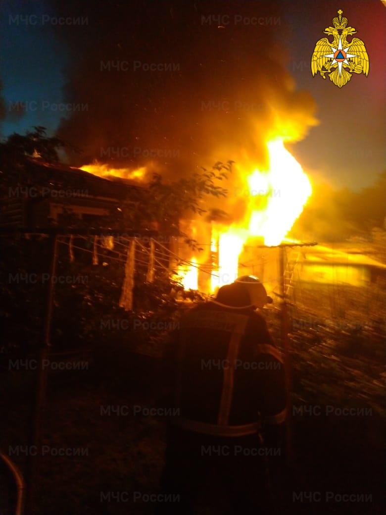 Пожар в Жуковском районе, д. Любицы