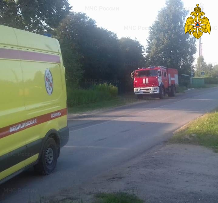 ДТП в Ферзиковском районе, д. Криуша