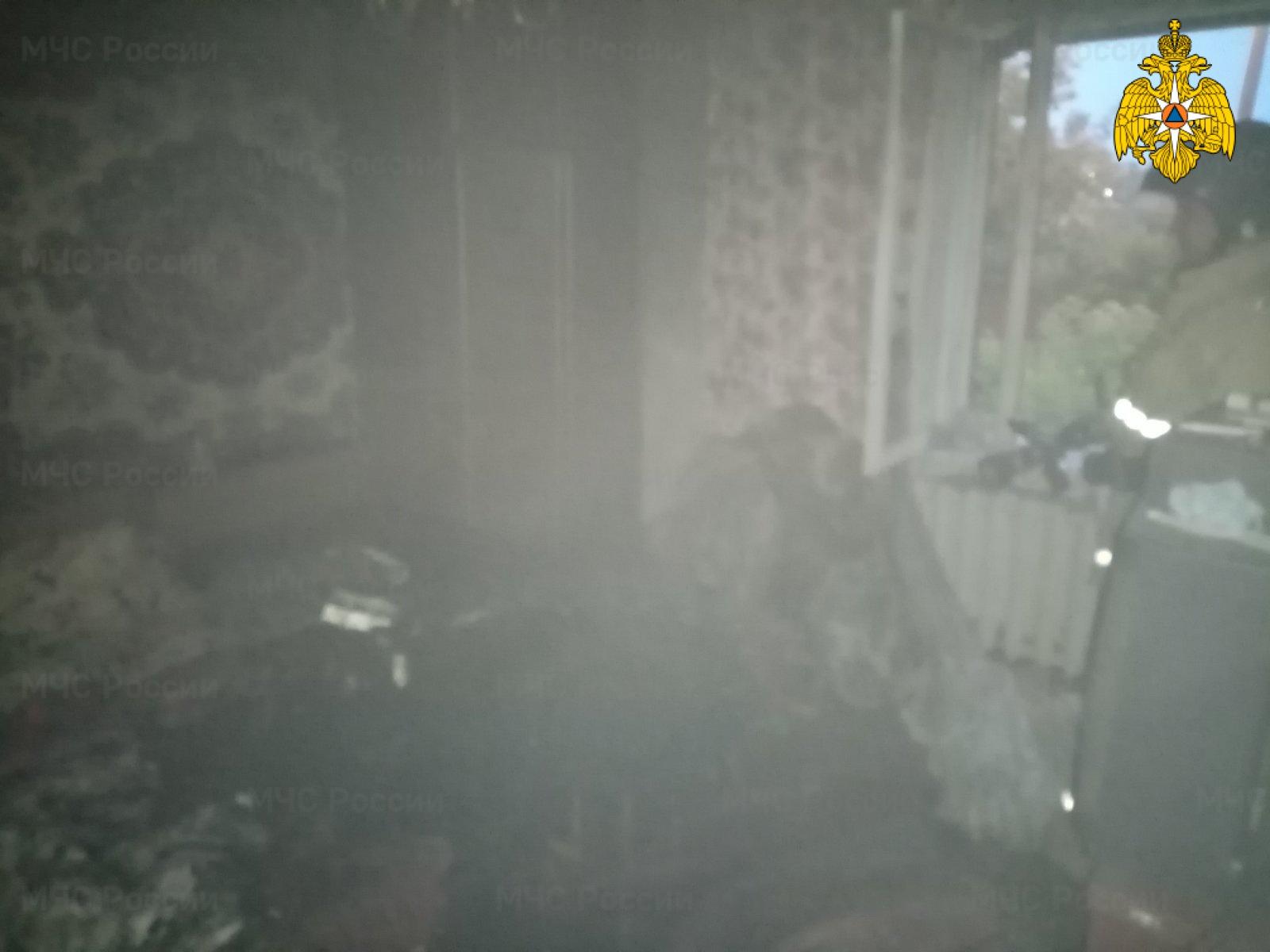 Пожар в Дзержинском районе, п. Товарково, ул. Центральная