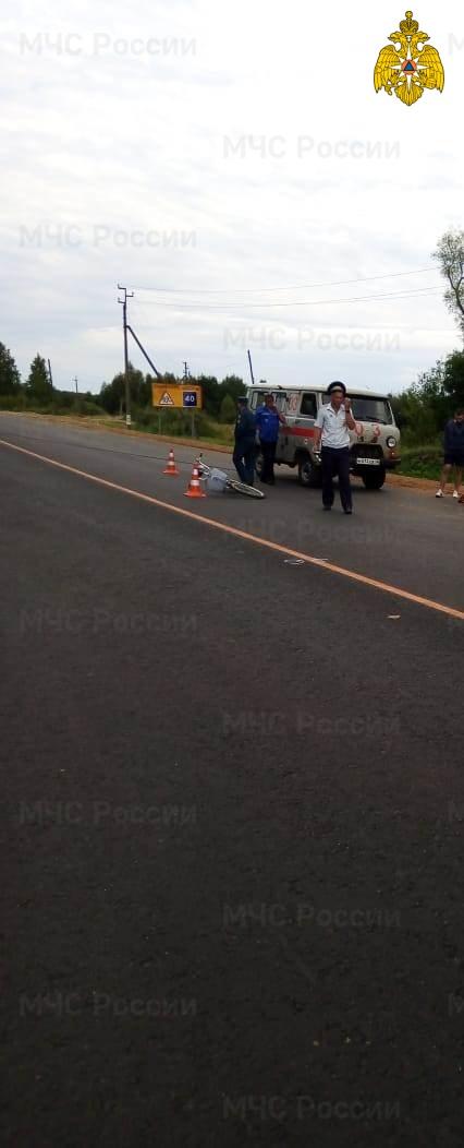 Спасатели МЧС принимали участие в ликвидации ДТП в Мосальском районе, 259 км автодороги А-130