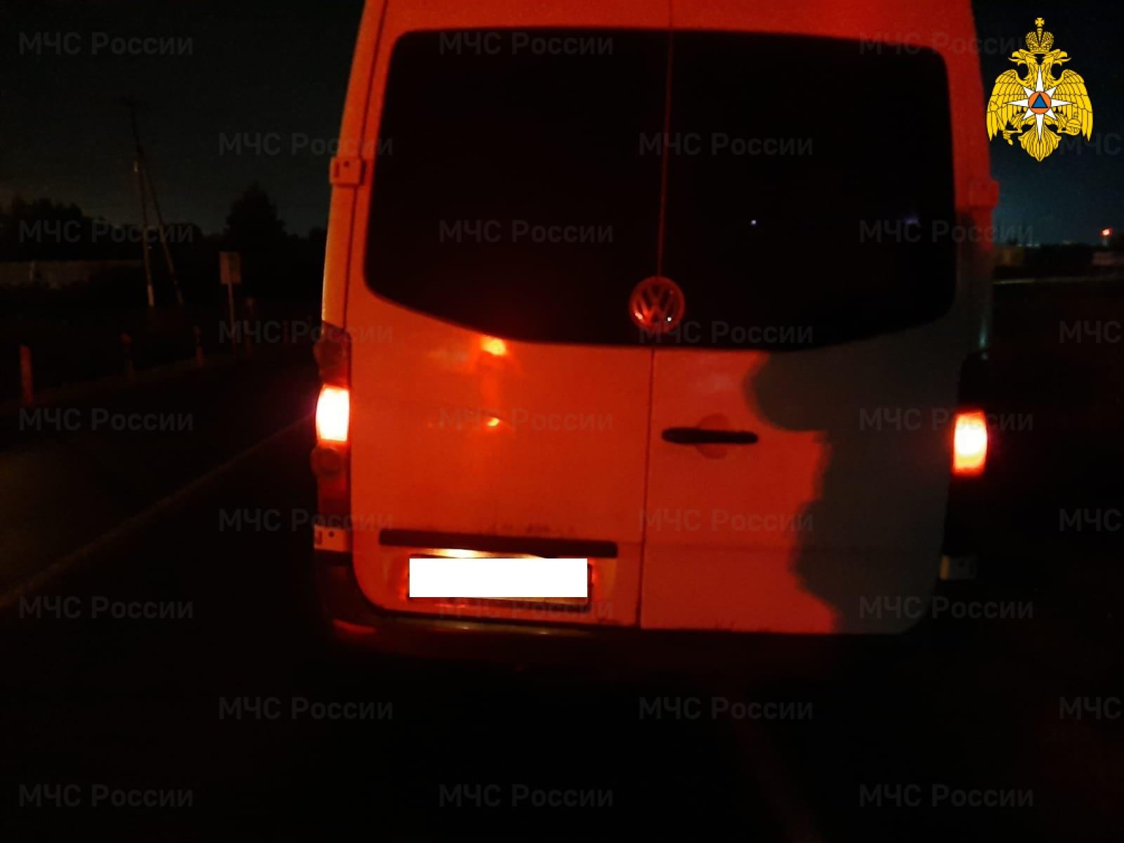 Спасатели МЧС принимали участие в ликвидации ДТП в Боровском районе, д. Добрино