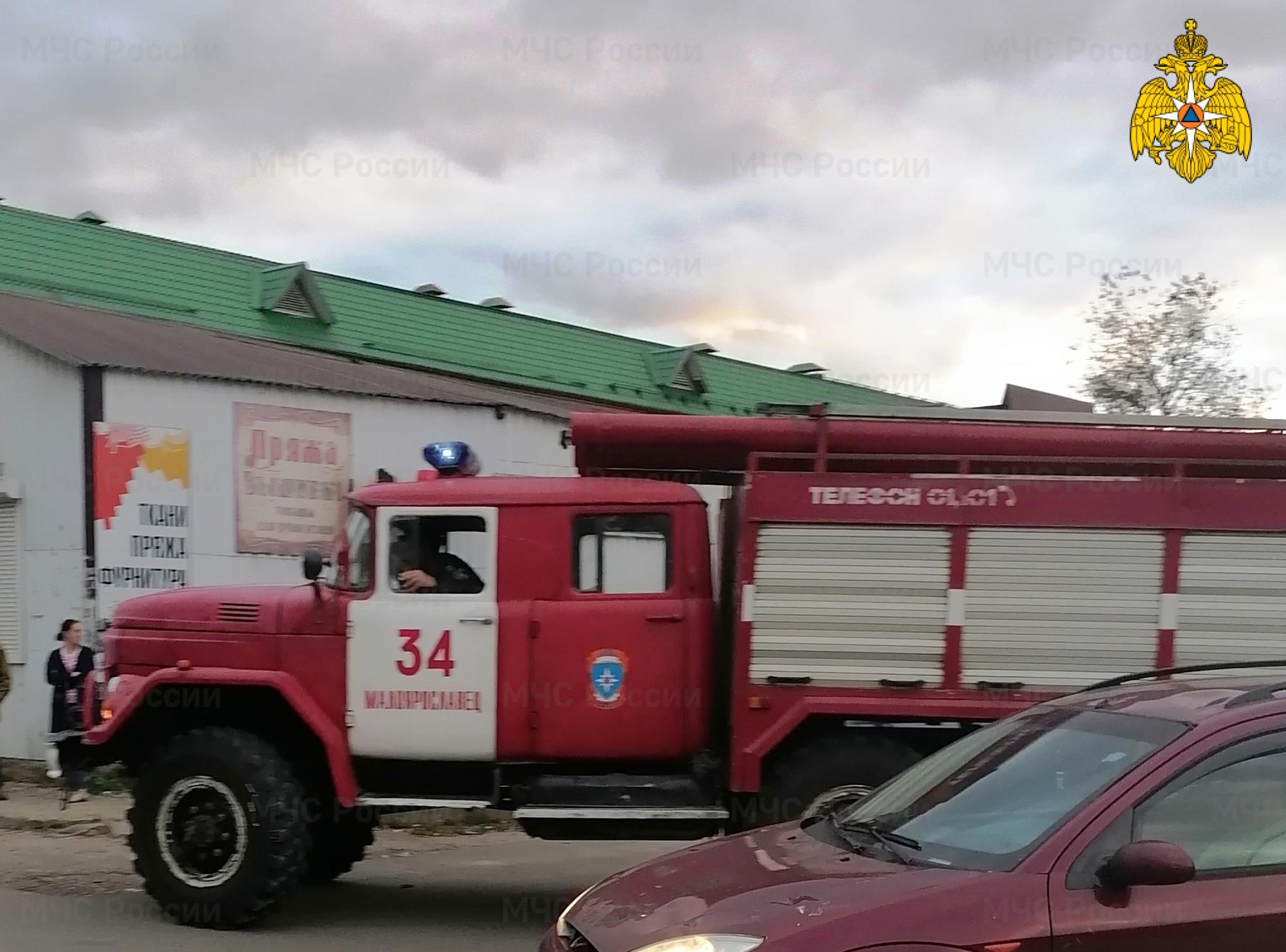 ДТП в Малоярославецком районе, г. Малоярославец, ул. Аузина